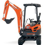 Kubota mini excavator for hire