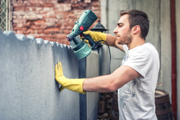 Clean and paint the exterior of your house during Winter