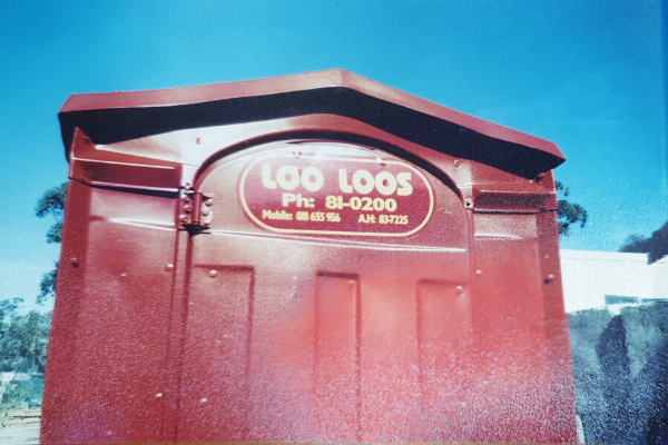 Image of Loo Loos Sewer Connect Toilet in the 1990s