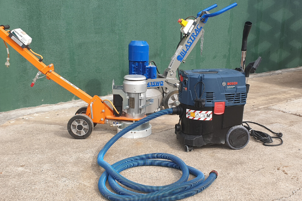 Bosch Dust Extractor useful for Crystalline Silica Dust removal